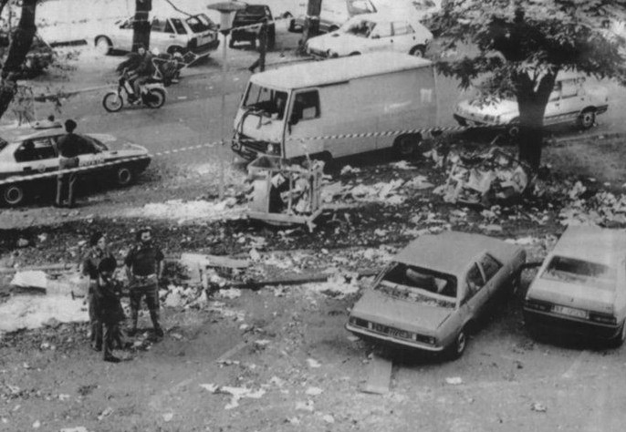 17.05.1988 Attentato viale Triste vicino Camera del Lavoro
